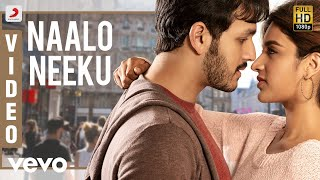 Mr. Majnu - Naalo Neeku Telugu Video | Akhil Akkineni, Nidhhi | Thaman S