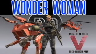 MGSV Phantom Pain - How To Play a FEMALE Main Character (Woman)   Tips   Fast and Easy