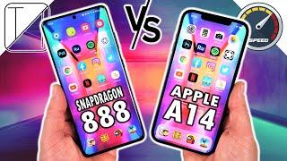 Samsung Galaxy S21 Ultra 5G vs Apple iPhone 12 Pro Max Speed Test