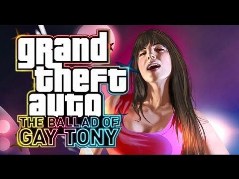 GTA 4: The Ballad Of Gay Tony All Cutscenes HD GAME