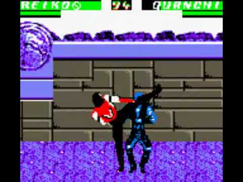 mortal kombat 4 game boy fatality