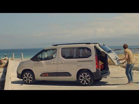 Citroen  Berlingo Минивен класса M - рекламное видео 1