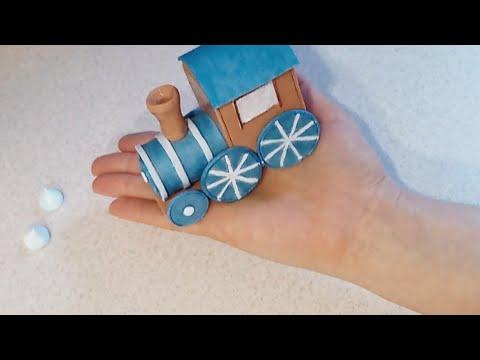 Как сделать поезд из мастики