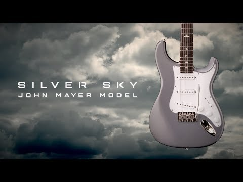 PRS John Mayer Silver Sky J2 Frost Elektrická kytara