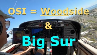 IFR Big Sur Routing to Santa Barbara (Full ATC)