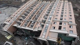 Самые страшные обрушения домов | The worst collapse of buildings