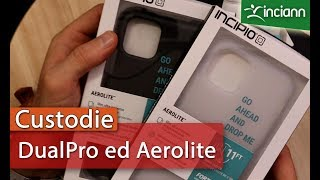 iPhone 11 Pro: Custodia ad elevata protezione INCIPIO DualPro trasparente ed Aerolite FortiCore