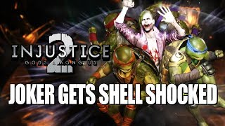 JOKER GETS SHELL SHOCKED - WEEK OF! Ninja Turtles: Injustice 2 Ranked Matches