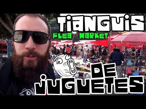 COMIC ROCK SHOW MERCADO DE JUGUETES ANTIGUOS CDMX TIANGUIS FLEA MARKET DF VINTAGE TOYS