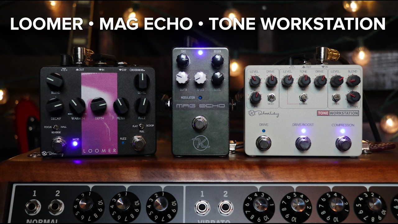 Keeley Electronics - Loomer • Mag Echo • Tone Workstation