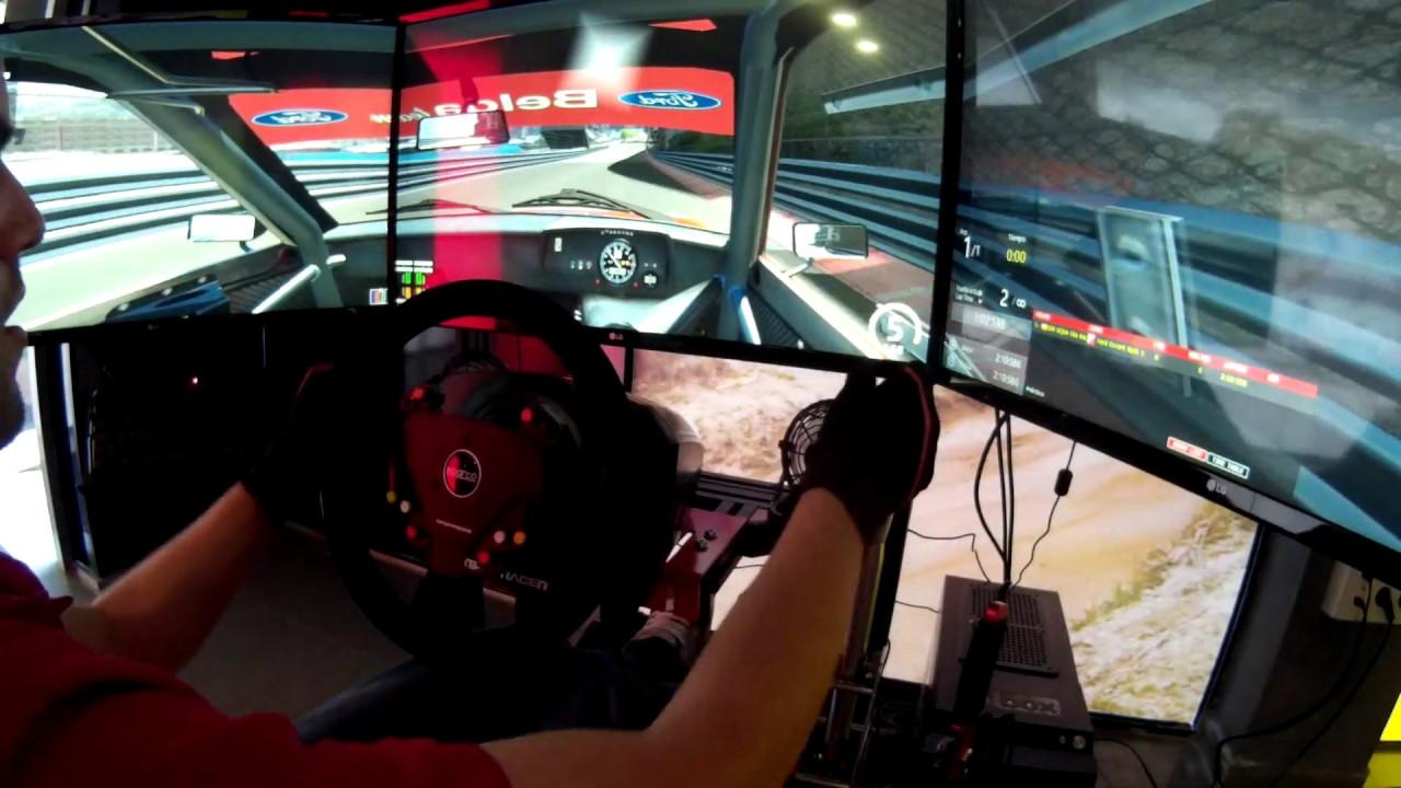 Monaco GP - Ford escort mk2