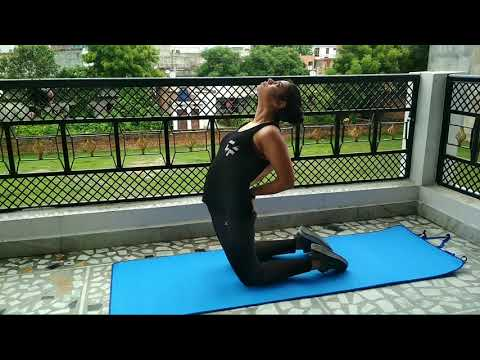 Kneeling Abdominal Stretch