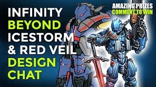 Infinity Beyond Week: Designing The Beyond Icestorm & Red Veil Expansions