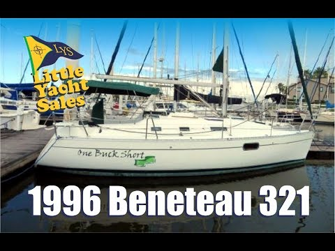 1996 Beneteau 321 Sailboat for sale at Little Yacht Sales, Kemah Texas