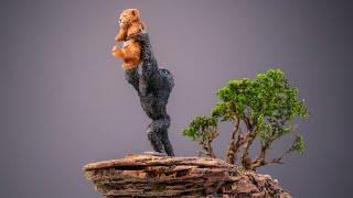 Recreating Pride Rock: The Lion King 2019 (5 Min Craft Diorama)
