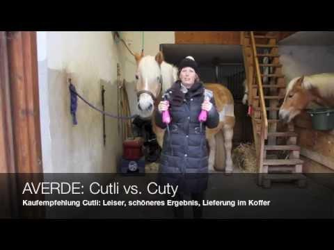 AVERDE testet Lister Schermaschine Cutli und Cuty Pferdeschermaschine