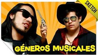 Si Los Géneros Musicales Fueran Personas | SKETCH | QueParió! ft. Magafi