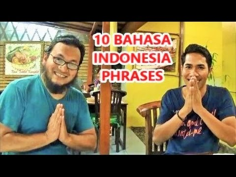 10 Bahasa Phrases 🇮🇩 You Must Learn Before Visiting Indonesia