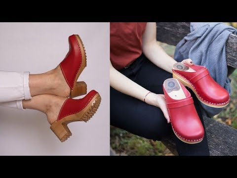 SUPPER COMFORTABLE CLOGS WITH FASHION & STYLE|| NEW CALF LEATHER CLOGS WITH ORTHOPEDIC SOLE||#SBLEO