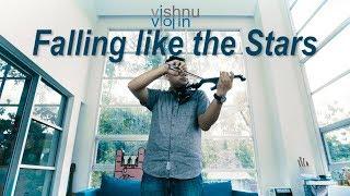 Falling Like The Stars   James Arthur  (Violin Cover With Lyric)