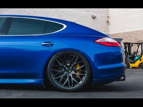Vorsteiner VF107 22inch Wheels on Porsche Panamera