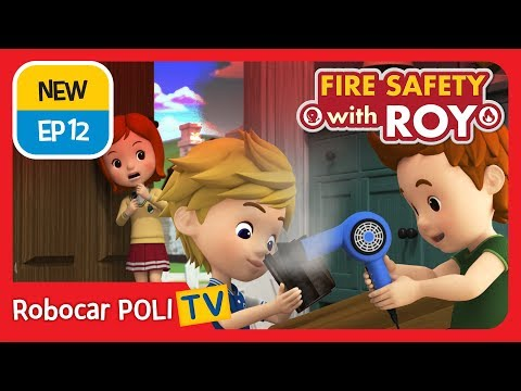🔥Fire safety with Roy | EP13 | Microwave Safety. | Robocar POLI | Kids animation