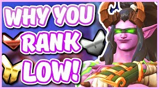 Overwatch - WHY YOUR RANK IS SO LOW (How Placement Games Work!)