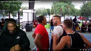 IT GOT REAL! Miami Trash Talkers Wanted To FIGHT! EXPOSED Bad! 5v5 Basketball
