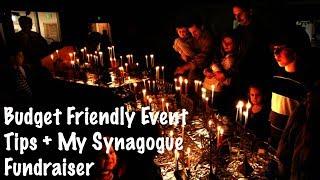 Budget Friendly Fundraising Ideas + Synagogue Fundraising Ideas