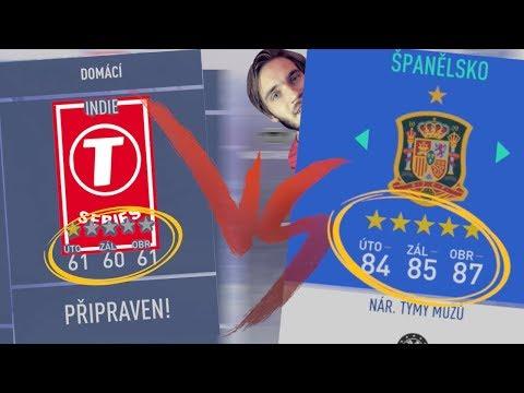 NEJHORŠÍ VS NEJLEPŠÍ NÁRODNÍ TÝM VE FIFA 19!