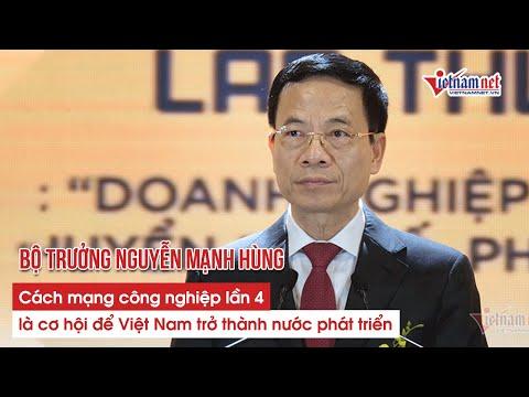 Cách mạng công nghiệp lần thứ 4 là cơ hội để Việt Nam phát triển (Vietnamnet)