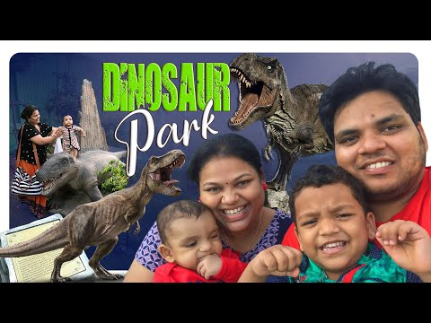 TELUGU VLOGGER IN USA 2021   Amazing Dinosaur park, Art Gallery & India sea shell Museum