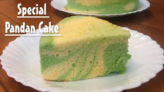 Soft and Moist Special Pandan Vanilla Sponge Cake Recipe | COOK WITH ANA ANTONETTE