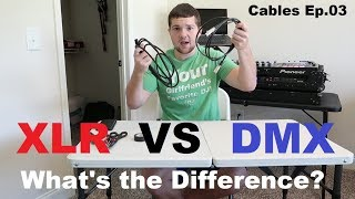 Cables Ep 03 | XLR vs DMX cable | Audio and Lighting | Can you use xlr for dmx?