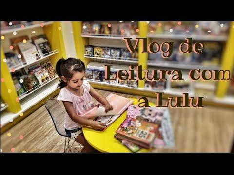 Vlog - Um dia de leituras com a Lulu | Isadora Livros