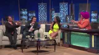 """Carolina Catalino en """"Noches con Platanito"""" Estrella TV"""