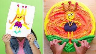 Chef Surprises Kids With Cake Made From Drawing S1E2 | Kids Kitchen | So Yummy