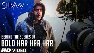 Making of 'BOLO HAR HAR HAR' Video Song | SHIVAAY Title Song | Ajay Devgn |Mithoon Badshah |T-Series