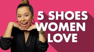 5 Mens Shoe Styles Women Love