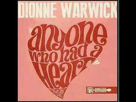 Anyone who had a Heart                                                    Dionne Warwick