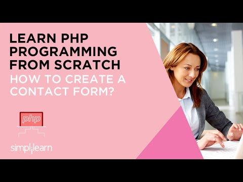 How To Create a Contact Form | PHP Programming Tutorial Video