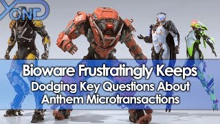 Bioware Frustratingly Keeps Dodging Key Questions About Anthem Microtransactions