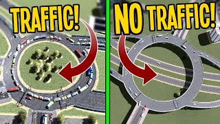 One Roundabout to Rule Them All in Cities Skylines!
