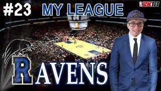 NBA 2K18 | MY LEAGUE | RALEIGH RAVENS #23 : FINALE DE CONF