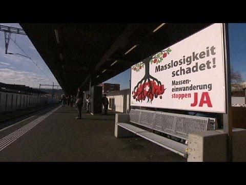 Ελβετία: Πιέσεις προς την Ε.Ε. για τον περιορισμό των μεταναστευτικών ροών