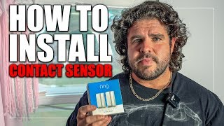 """How to Install the """"Ring Contact Sensors"""" on a Window or Door"""