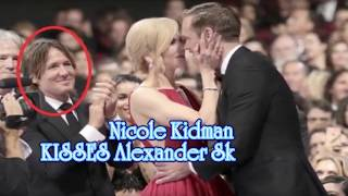 Nicole Kidman kisses Alexander Skarsgård