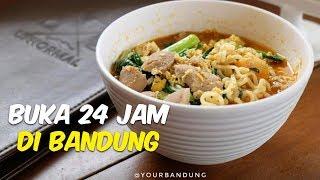 7 Tempat Makan di Bandung Buka selama 24 Jam, Coba Bakso Semar hingga Surabi Setiabudi