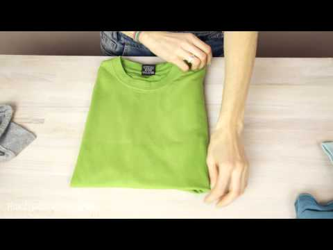 必學3秒折衣法~ 原來我這輩子折衣服都折錯了!