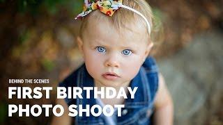 FIRST BIRTHDAY PHOTO SHOOT Behind The Scenes, Sacramento Photographer Svitlana Vronska